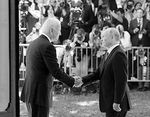 Мы с Байденом смогли понять друг друга по ключевым позициям, подчеркнул Путин