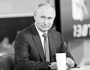За 3 часа 42 минуты прямой линии с россиянами Путин дал ответ на 68 вопросов