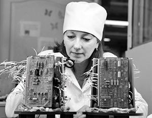 Советский задел по микроэлектронике в Белоруссии сохранился