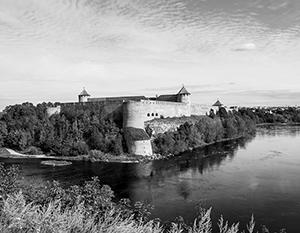 Ивангород, на который претендует Эстония, был построен русскими еще во времена Ивана Грозного
