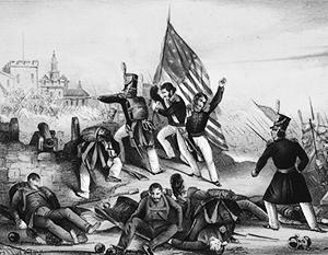 Историю присоединения Калифорнии к США пытались представить как героическую, но она комична