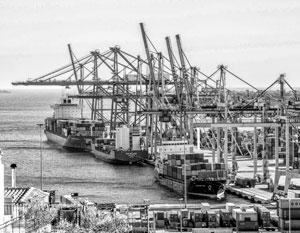 Греческий порт Пирей – один из важнейших китайских портов в Европе