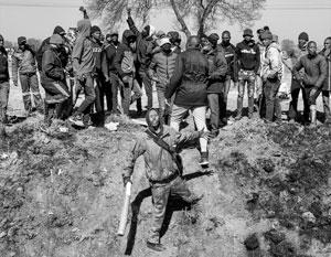 Толпы зулусов грабят и убивают все на своем пути