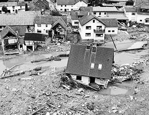 Германия переживает сильнейшее за 25 лет наводнение