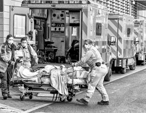 Британская медицина едва справляется с эпидемией