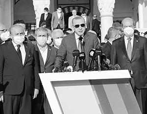 «Турок держит свое слово, а грек – нет», – провозгласил Эрдоган