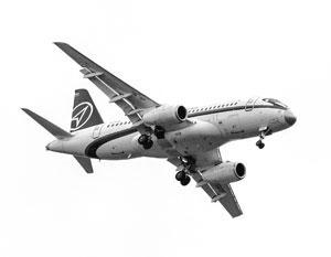 «Суперджет» на авиасалоне МАКС