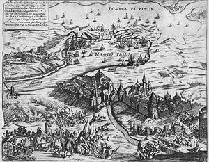 Так выглядела крепость Азов на старинных гравюрах