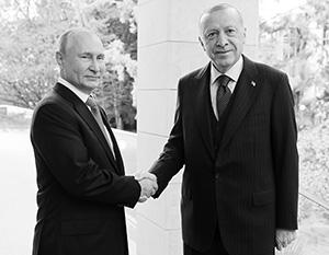 Эрдоган заявил про единство с Путиным почти по всем вопросам