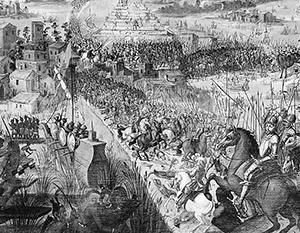Фото: Битва за Теночтитлан, wikipedia.org