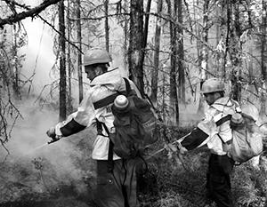 Предпринимаемые усилия по тушению пожаров приносят заметный результат