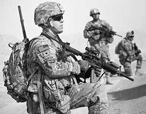 Американские солдаты больше не выглядят непобедимыми