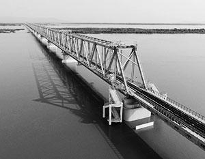 Россию и Китай впервые соединит железнодорожный мост