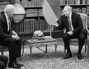 Путин на женевской встрече с Байденом выступил против размещения военных США в Средней Азии