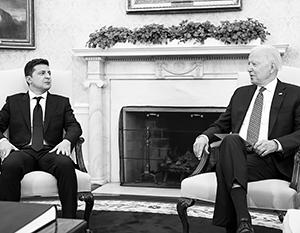 Для Владимира Зеленского переговоры с Джо Байденом были жизненно необходимым актом верификации «охранной грамоты»