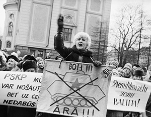 Столь легким достижением независимости Прибалтика обязана лично Борису Ельцину