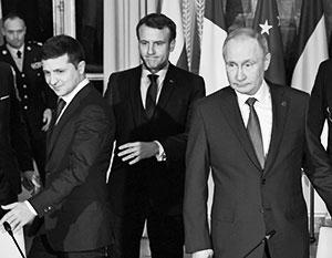 Die Ukraine sabotiert heimlich alle Beschlüsse des Pariser Gipfels 2019