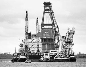 Киев хочет обернуть себе на пользу тот факт, что газопровод достраивало российское судно «Фортуна»