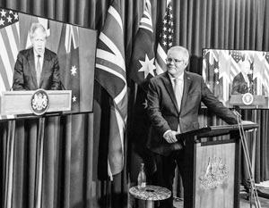 США и Австралия вспомнили о «морских демократиях» и их вековой «борьбе за свободу»