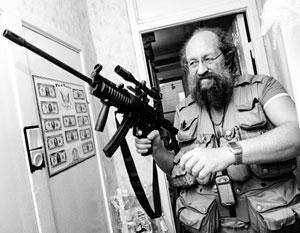 «Закон по сути разрешает вооружаться только преступникам», – считает Анатолий Вассерман