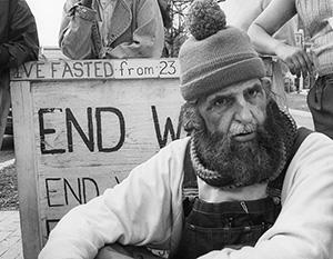 Доктор Хайдер во время голодовки