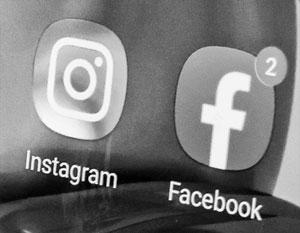 В работе Facebook и Instagram вновь возникли проблемы