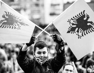 У албанцев очень сильно развито национальное чувство