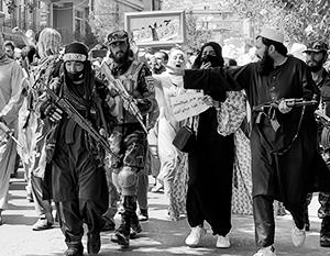 Женщины теперь не могут появляться на афганских улицах без сопровождения мужчин