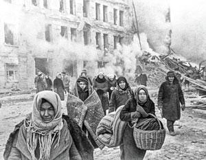 От голода и болезней во время блокады погибли более 600 тысяч человек