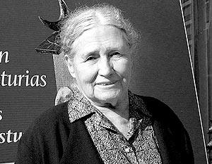 Имя лауреата этого года английской писательницы Дорис Лессинг не упоминалось в списке вероятных призеров