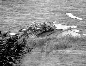 Легкомоторный самолет иностранного производства упал в Ленинградской области во Всеволожском районе