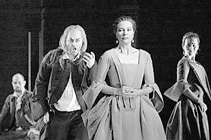 Сцена из оперы  «Тамерлан» в постановке Пьера Ауди