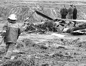 Это уже четвертое падение вертолета в Московской области за последний год