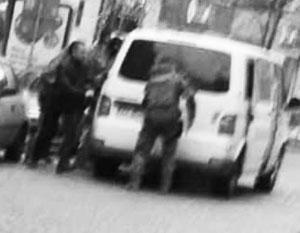 Задержание соратников Саакашвили в Киеве удалось поймать на камеру