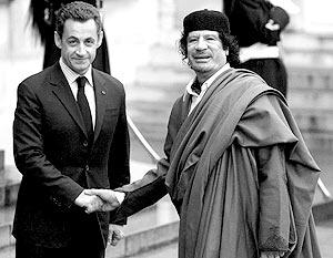 Президент Франции Николя Саркози пригласил в страну ливийского лидера Муамара Каддафи