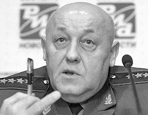 Юрий Балуевский открыто заявил, что не исключает возможности военного противостояния России с Западом