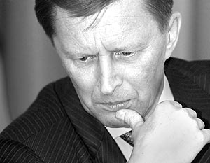 Первый вице-премьер Сергей Иванов уверен, что продукция со словом «нано» – лишь рекламный трюк