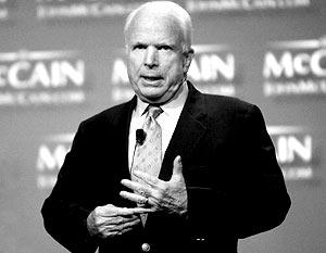 Джон Маккейн решил строить предвыборную программу на своей излюбленной теме – критике России