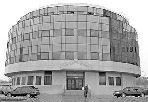 Здание Газпромбанка в Москве