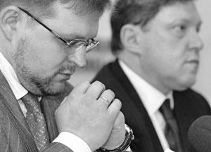 Никита Белых и Григорий Явлинский