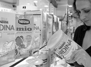 В Италии полиция арестовала 30 млн. литров детского молока Nestle
