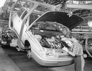 АвтоВАЗ является крупнейшей российской компанией по автомобилестроению