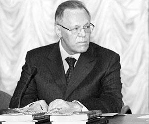 Президент Российской академии наук Юрий Осипов