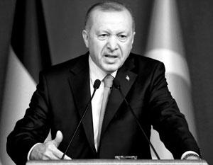 Эрдоган впервые за последнее время обрушился с жесткой критикой на Россию