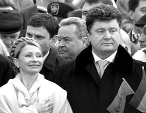 Когда-то Юлия Тимошенко и Петр Порошенко были во многом заодно, но теперь их дороги разошлись