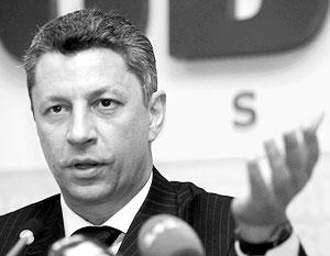 Депутат Верховной Рады, экс-министр топлива и энергетики Украины Юрий Бойко