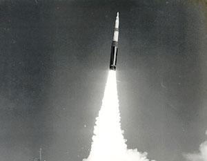 Ракета Minuteman – трехступенчатая баллистическая ракета шахтного базирования