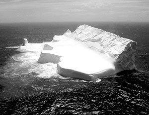 Кусок льда, превышающий размеры Манхэттена, откололся от Антарктиды