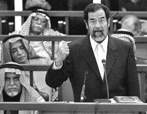 Cудебный процесс над бывшим президентом Ирака Саддамом Хусейном