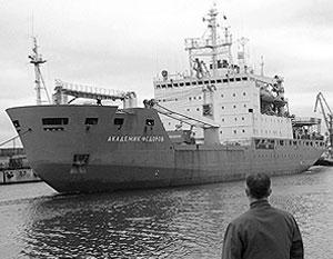 Корабль «Академик Федоров» является флагманом научно-экспедиционного флота РАН